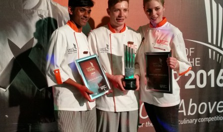 Winners again at Unilever Chef of the Year!