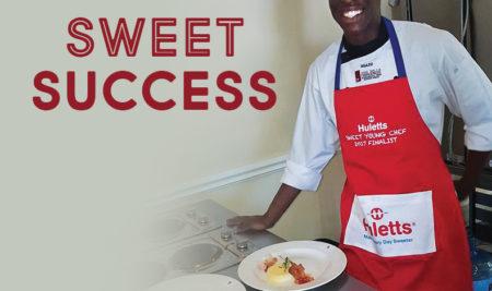 "Huletts Sweet Young Chef of 2017: our own Nhlakanipho ""Sgazo"" Ngubane."